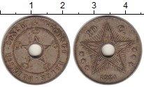 Изображение Монеты Бельгийское Конго 10 сантимов 1921 Медно-никель XF