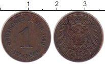Изображение Монеты Германия 1 пфенниг 1910 Медь XF