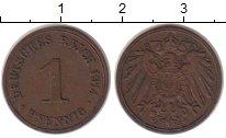 Изображение Монеты Германия 1 пфенниг 1914 Медь XF