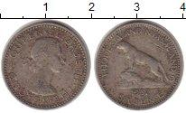 Изображение Монеты Родезия 6 пенсов 1957 Медно-никель VF