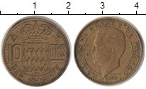 Изображение Монеты Монако 10 франков 1950  XF