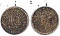 Изображение Монеты Малайя 10 центов 1943 Медно-никель XF