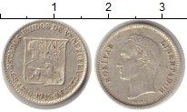 Изображение Монеты Венесуэла 1/4 боливара 1945 Серебро XF