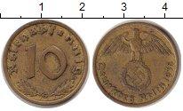 Изображение Монеты Третий Рейх 10 пфеннигов 1938  XF