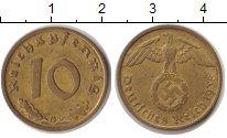 Изображение Монеты Третий Рейх 10 пфеннигов 1938  XF G