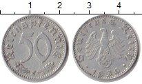 Изображение Монеты Третий Рейх 50 пфеннигов 1936 Алюминий XF