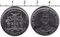 Изображение Монеты Ямайка 10 центов 1991 Медно-никель XF
