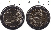 Изображение Монеты Кипр 2 евро 2012 Биметалл UNC-