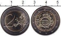 Изображение Монеты Словения 2 евро 2012 Биметалл UNC-