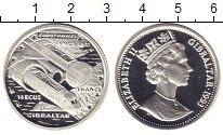Изображение Монеты Гибралтар 14 экю 1993 Серебро UNC- Евротуннель