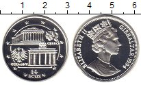 Изображение Монеты Гибралтар 14 экю 1994 Серебро UNC-