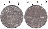 Изображение Монеты Третий Рейх 2 марки 1934 Серебро XF