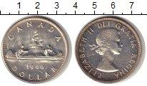 Изображение Монеты Канада 1 доллар 1960 Серебро XF
