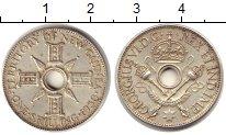 Изображение Монеты Новая Гвинея 1 шиллинг 1938 Серебро XF