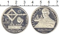 Изображение Монеты Италия 10 евро 2009 Серебро UNC-