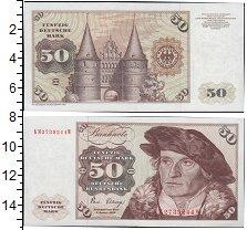 Изображение Банкноты ФРГ 50 марок 1970  UNC-