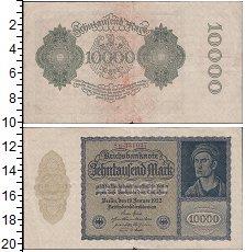Изображение Боны Веймарская республика 10000 марок 1922  XF