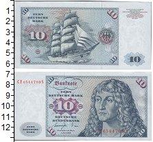 Изображение Боны ФРГ 10 марок 1980  UNC