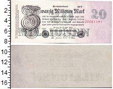 Изображение Банкноты Германия Веймарская республика 20000000 марок 1923  XF