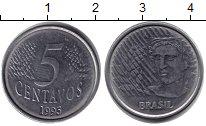 Изображение Барахолка Бразилия 5 сентаво 1995 Железо XF