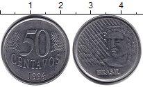 Изображение Барахолка Бразилия 50 сентаво 1994 Железо XF