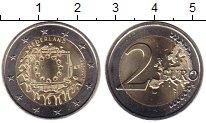 Изображение Мелочь Нидерланды 2 евро 2015 Биметалл UNC