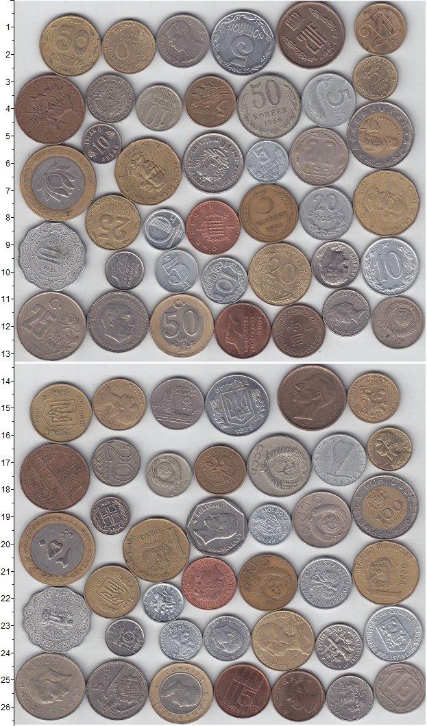 Изображение Лоты монет для начинающих нумизматов Монеты стран мира Лот №01212 0