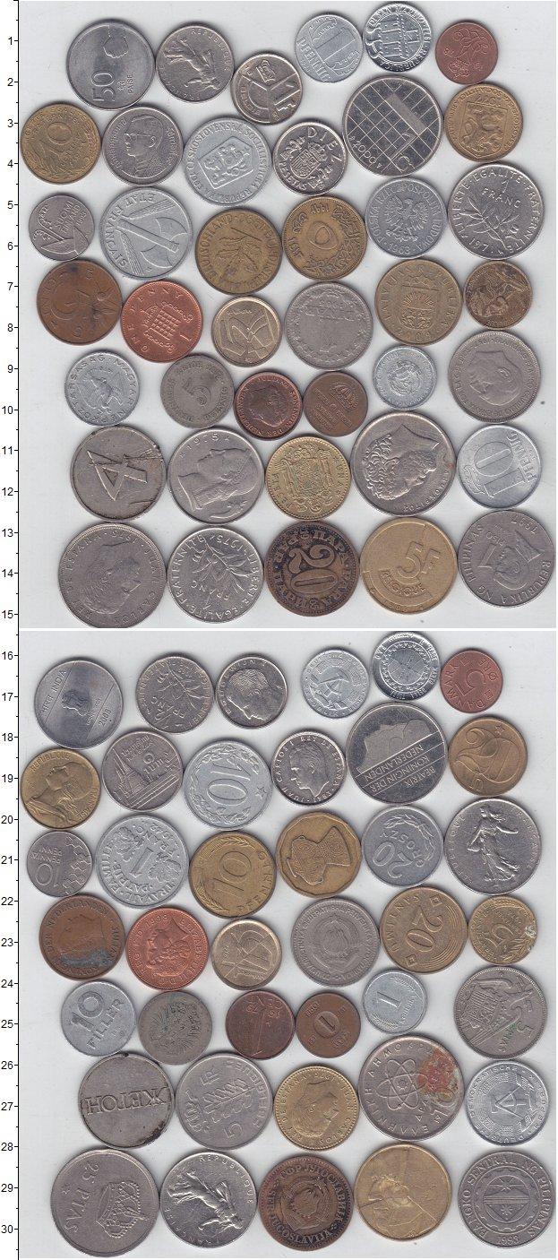 Монеты стран мира Лот №01222 0