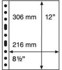 Изображение Аксессуары для монет Vario / Grande Прозрачный лист на 1 ячейки (формат GRANDE) 0