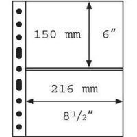 Изображение Аксессуары для монет Vario / Grande Прозрачный лист на 2 ячейки (формат GRANDE) 0
