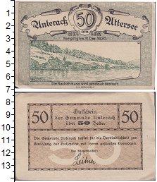 Изображение Банкноты Германия : Нотгельды 50 геллеров 1920  VF