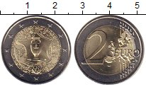 Изображение Мелочь Франция 2 евро 2016 Биметалл UNC-