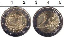 Изображение Мелочь Литва 2 евро 2015 Биметалл UNC-