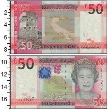 Изображение Банкноты Великобритания Остров Джерси 50 фунтов 0  UNC