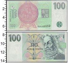 Изображение Банкноты Чехия 100 крон 1997  UNC-