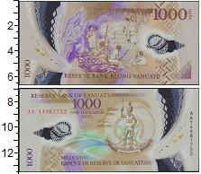 Изображение Банкноты Вануату 1.000 вату 0  UNC