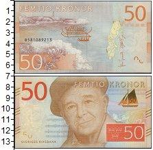 Изображение Банкноты Швеция 50 крон 0  UNC <br>Эверт Таубе. Бох