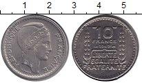 Изображение Монеты Франция 10 франков 1949 Медно-никель XF