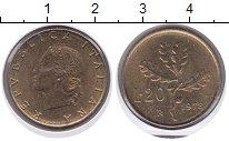 Изображение Монеты Италия 20 лир 1978 Медно-никель XF