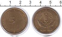 Изображение Монеты Словения 5 толаров 1995 Медь XF