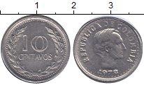 Изображение Монеты Колумбия 10 сентаво 1972 Медно-никель VF