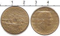 Изображение Монеты Италия 200 лир 1994 Медно-никель XF