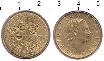 Изображение Монеты Италия 200 лир 1993 Медно-никель XF