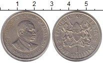 Изображение Монеты Кения 1 шиллинг 1980 Медно-никель XF