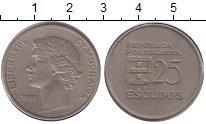 Изображение Монеты Португалия 25 эскудо 1981 Медно-никель XF