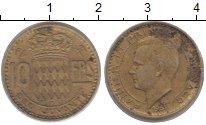 Изображение Монеты Монако 10 франков 1951  XF Райнер III