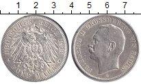 Изображение Монеты Баден 5 марок 1913 Серебро XF