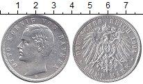 Изображение Монеты Бавария 5 марок 1904 Серебро XF