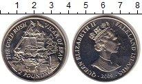 Изображение Монеты Фолклендские острова 2 фунта 2000 Медно-никель UNC-