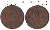 Изображение Монеты Ирландия 1 пенни 1931 Медь XF